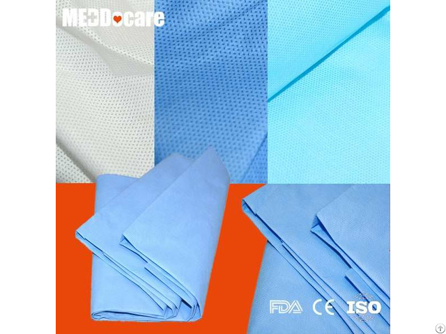 Protective Hotel Homeuse Pe Cpe Mattress Cover Disposable Pp Sms Bed Sheets Manufacturers
