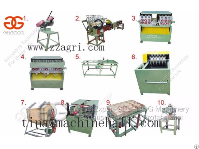 Bamboo Toothpick Production Line For Sell