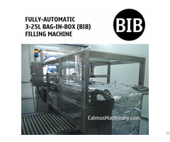 Fully Automatic 5l 10l 20l Bib Filler Bag In Box Filling Machine