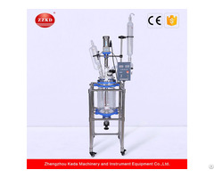 S 10l Jacketed Glass Reactor