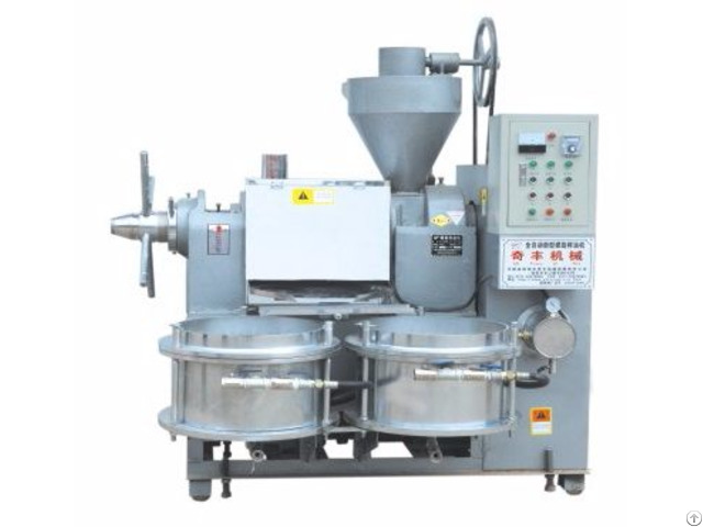 Hot And Cold Oil Press Machine