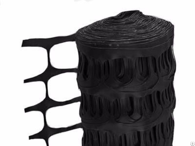 Black Plastic Barrier Fencing