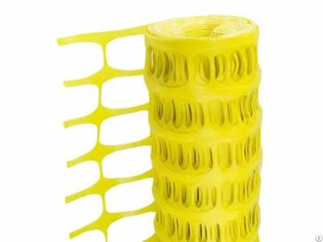 Yellow Barrier Fencing Mesh