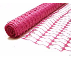 Pink Barrier Fencing Mesh