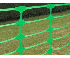 Oval Plastic Barrier Mesh