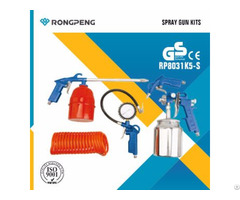 Rongpeng 5pcs Spray Gun Kits R8031k5 S
