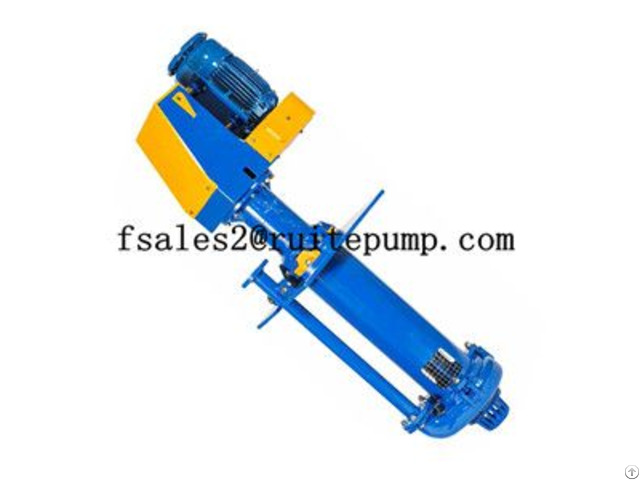 High Quality Gold Vertical Slurry Pump