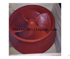 Chemical Centrifugal Slurry Pumps Parts Impeller