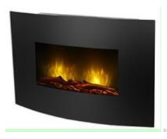 23 Inch Wall Mounted Electric Fireplace With Led