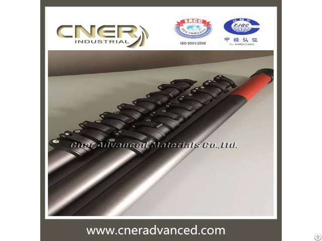 High Strength Light Weight Carbon Fiber Window Cleaning Pole