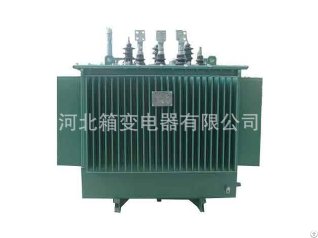 Power Transformer S13 M Oil Type Transformers