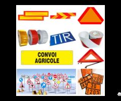 Vehicle Marking Sign