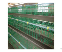 Type H Commercial Poultry Layer Cages