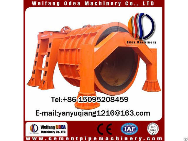 High Speed Cement Pipe Making Machine