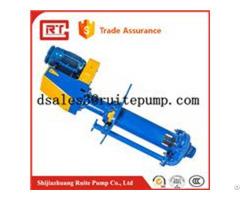 Iso Standard High Presure Submersible Vertical Slurry Pump