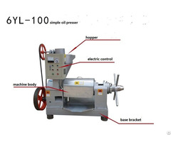 Simple Oil Press Machine