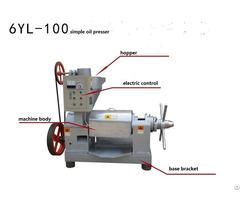 Simple Oil Press Machine