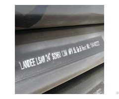 Api 5l Gr B Psl1 Welded Lsaw Pipe 24 Inch 12m
