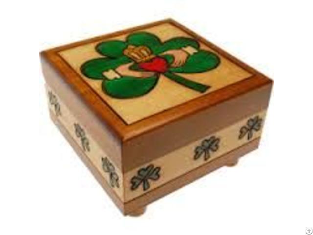 Wooden Puzzle Boxes