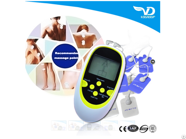 Digital Therapy Machine Portable Mini Health Tens Machines