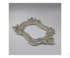 Aluminum Alloy Photo Frame Die Casting Silver Plating