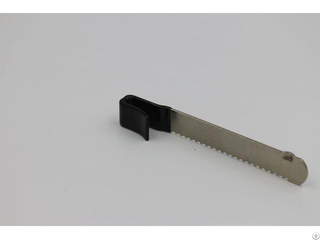 Carbon Steel Showcase Lock Parts Stamping Nickel Plating