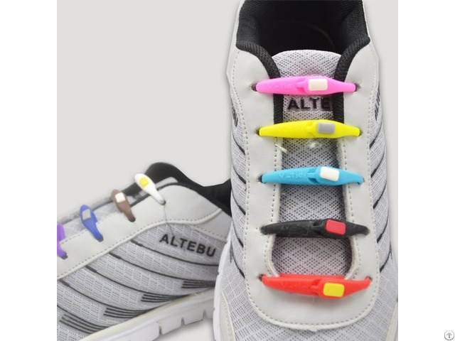 New Elastic No Tie Silicone Shoe Laces