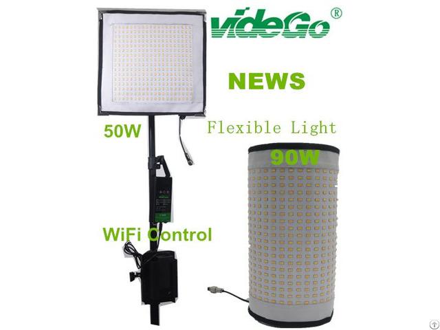 Led Flexible Video Light Bi Color 90w 50w