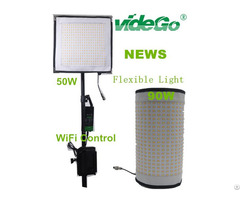 Led Flexible Video Light Bi Color 90w 50w
