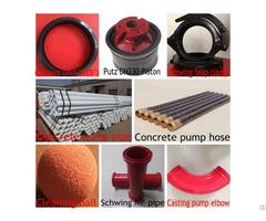 Concrete Pump Spare Parts Proffessional  Manufacturer