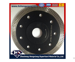 Cyclone Mesh Turbo Diamond Saw Blade For Ceramic Granite Marble
