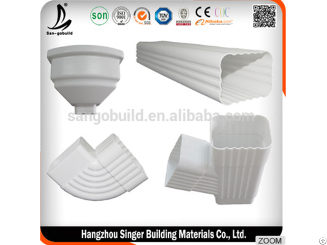 Rain Gutter For Roofing Drainage System