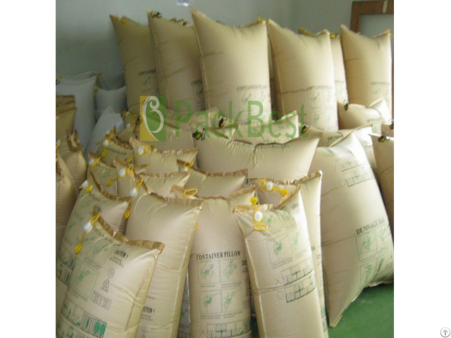 Kraft Paper And Pp Woven Co Extrusion Dunnage Air Bag For Cargo