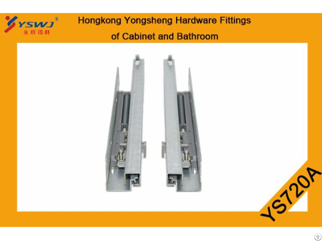 Two Fold Extension Concealed Soft Closing Runner Ys720a