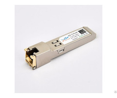 Sfp Rj45 10 100m Cisco Compatible Copper T Optical Transceiver Module