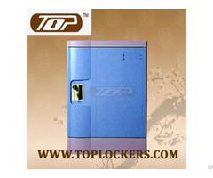 Six Tier Storage Lockers Abs Plastic Navy Color