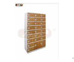 Six Tier Plastic Cabinets Coffee Color