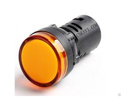 Led Pilot Lamp Signal Light Indicator 22mm Ad26b 22ds Yellow