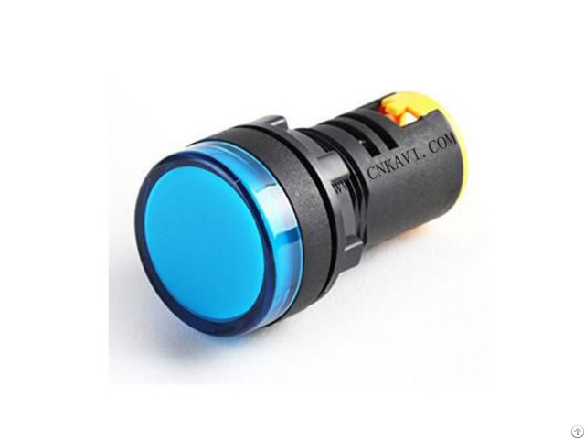 Led Pilot Lamp Signal Light Indicator 22mm Ad26b 22ds Blue