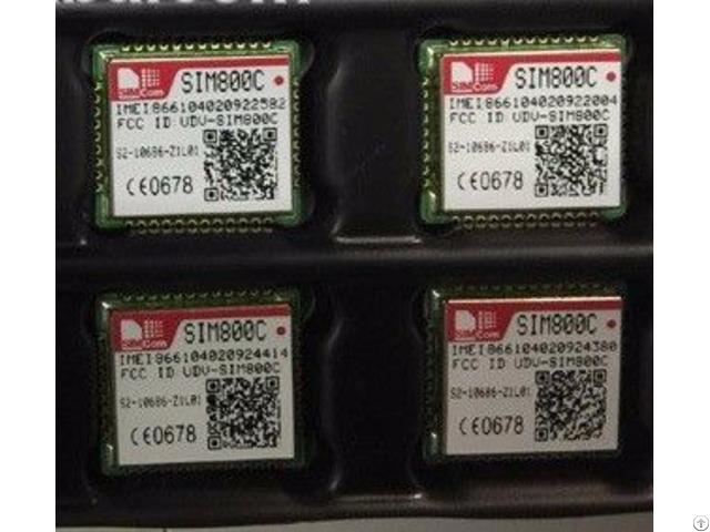 Sim800c Simcom Quad Band Gsm Gprs Module Small Tiny Size Dimension
