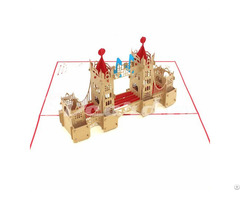 Tower Bridge 1 Pop Up 3d Greeting Card