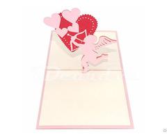 Arrows Love 3d Pop Up Card