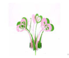 Heart Flower 3d Pop Up Card