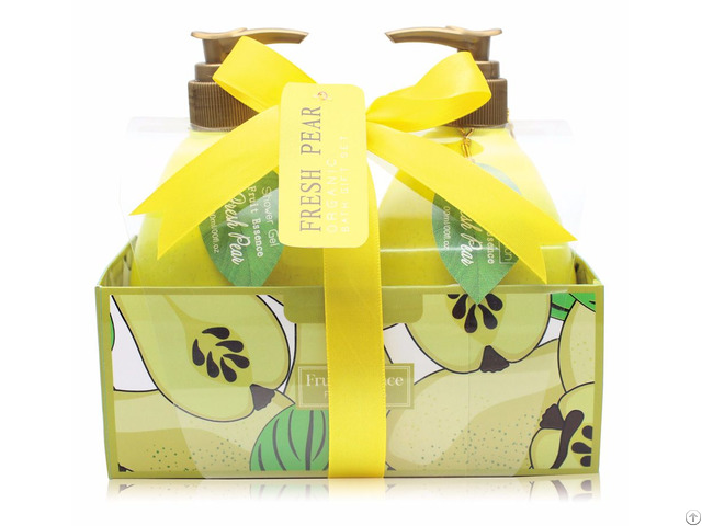 Comfortable Relax Use Bath Gift Shower Gel Body Lotion Set In Paper Box
