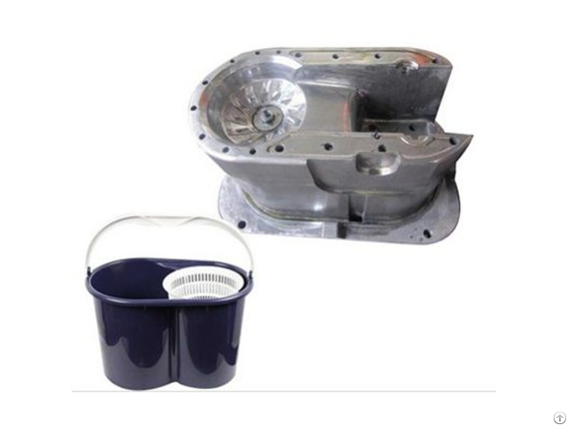 Pp Plastic Mop Bucket Injection Mold