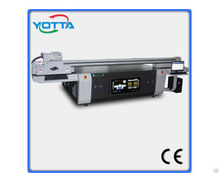 High Quality Uv Led Cmyk Print On Flat Ceramic Background Printing Machine