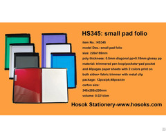 Hs345 Small Pad Folio