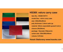 Hs369 Velcro Carry Case