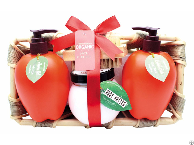 Fresh Apple Spa Set Bath And Body Personal Care Gift Sets