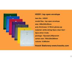 Hs201 Top Open Envelope